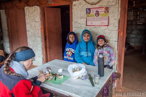 Z wizytą u nepalskiej rodziny