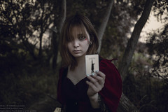 Sorceress in nightmare (TAKAGI.yukimasa1) Tags: portrait people woman girl beauty forest canon dark eos japanese cool fineart card mysterious magician 5dsr