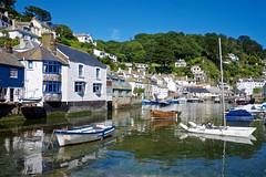 DSCF9080 (douglaswestcott) Tags: summer england english coast seaside cornwall village harbour coastal quaint polperro