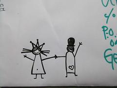 (lu.glue) Tags: lu luglue basel drawing zeichnung dessin disegno bw sw creatures smile wave kreaturen rire love girl boy fille garcon mdchen junge ragazza ragazzo amor amore amoure liebe herz heart