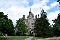 Peters Hall at Oberlin College (Calvin Faunus) Tags: ohio oberlin oberlincollege petershall architecture victorianromanesque queenanne