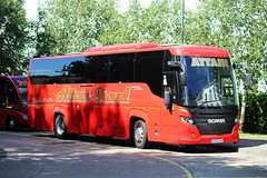 Attain, Birmingham AT16 ATN, Scania K-series in Cheltenham (majorcatransport) Tags: westernmidlandsbuses attainbirmingham scania higer cheltenham