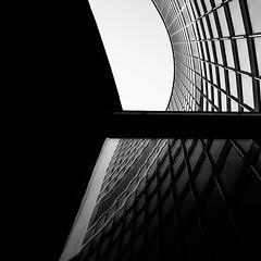 interpretation. (jonathancastellino) Tags: toronto architecture reflection abstract square leica m summicron curve window mirror interpretation cityhall ngc