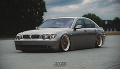 BMW 7 SERIES (JAYJOE.MEDIA) Tags: bmw 7 series low lower lowered lowlife stance stanced bagged airride static slammed dampfhammer