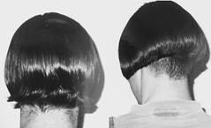 image (Shavednapes) Tags: shavednapes shaved nape before after angled bob concave inverted shavednape buzzednape clippered
