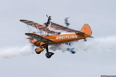Breitling Wing Walkers (jsphotosireland) Tags: breitling aircraft biplane flying plane wingwalkers smoke headonpass flight nikond810 nikkorafs200500mmf56eed outdoors airshow bray cowicklow ireland irl boeing stearman model75 aerobatics wingwalker