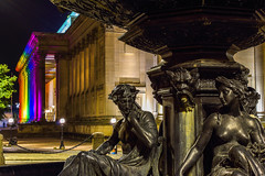 Pride 2016 in Liverpool fountain (saile69) Tags: pride 2016 st georges hall echo steble fountain gays