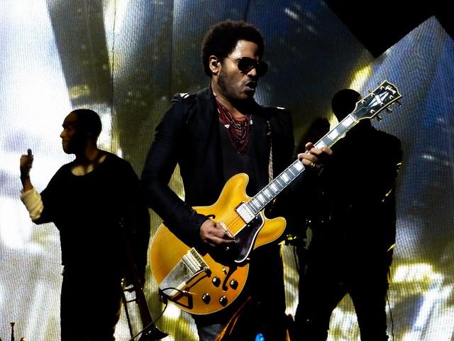 Lenny Kravitz - Black And White France - Bercy, Paris (2012)