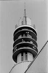 Wormer (matthijs rouw) Tags: wormer netherlands city film analogue analog analoog bw blackandwhite ilford fp4plus fp4 35mm canon dutch holland tower kpn toren