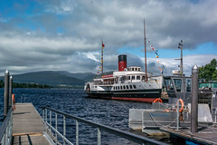 Maid of the Loch from the boat launch (Rivertay07 - thanks for over 4 million views) Tags: scotland lochlomond rivertay richardstead copyrightprotected maidoftheloch