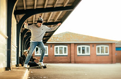 Luiz Flavio - Nosslide - Southsea - Portsmouth (old_skool_paul) Tags: portsmouth southsea canon 7d 7dmark2 7dm2 extreme action sports flash lighting strobe strobist light 50mm naturallight perfect yongnou 568 430skate skater skateboard skatelife skateboarding skateboarder skating lifestyle street city advertising editorial redbull illume 2016 clothing co tumblr lens competition winner work eos england skateshop summer polar palace ss16 supreme sidewalk magazine thrasher skateboardmag berrics adobe lightroom nikcollection analogefex