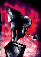 Saci (rodrigo okuyama) Tags: estencil stencil assombração ghost itariri