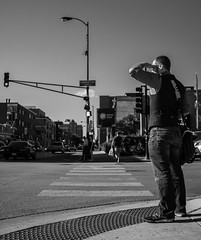 Street walk session 6-27-2016 pic16 (Artemortifica) Tags: belmont brownline cta chicago clarkandlake sonya6300 street blueline buses candid city downtown passengers people trains il