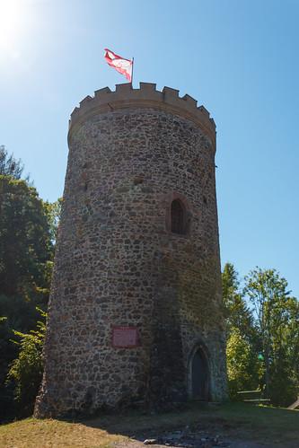 Ruines du château Husen à Hausach