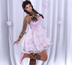 Destiny ~ Lena (onefroggychick) Tags: lageeny shopping fashion dress romance love secondlife pose