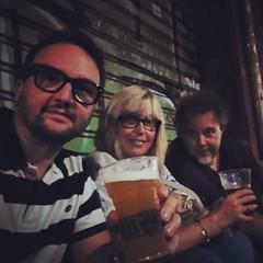 Una birra di fine estate al @birrilambrate #cheers #Milan #birra (paoloroversi) Tags: instagramapp square squareformat iphoneography uploaded:by=instagram rise