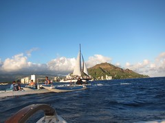 IMG_6836 (nautical2k) Tags: waikikibeachboys paddling outrigger canoe diamondhead honolulu oahu
