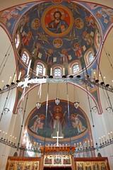 DSC_8373 (AndrewGould) Tags: orthodox dome fresco mural iconography byzantine russian holy ascension