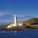 Lismore Lighthouse on Eileen Musdile, Scotland