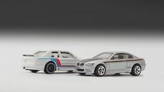 Hot Wheels BMW E92 M3 and E30 M3 (nirmala_l91) Tags: bmw bmwm3 diecast hotwheels e30 e92 m3