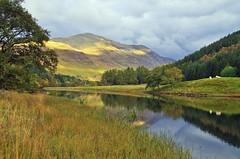 Glen Lyon and the river Lyon (eric robb niven) Tags: ericrobbniven scotland glenlyon perthshire landscape