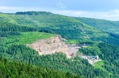 Schwarzwald / Black Forest (jbdodane) Tags: badenwrttemberg alamy161016 blackforest cycletouring cyclotourisme europe forest freewheelycom germany mummelsee quarry schwarzwald jbcyclingnordkapp alamy