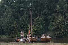 Willem Lodewijk van Nassau- Dillenburg zet voet aan wal (zaqina) Tags: soltkamp zoutkamp slag 1589 belegering spaans tachtigjarige oorlog willem lodewijk van nassau dillenburg