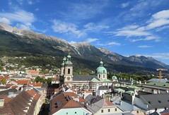 Innsbruck  ,  Austria (adr.vesa) Tags: austria innsbruck panorama cityscape mountains berg roof city urban