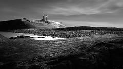 Solitude (Lindi m) Tags: castle abandoned dunstanburgh northumberland coastal longexposure rocks