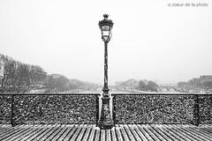 Pont des arts (o coeur de la photo) Tags: pontdesarts paris france europe neige