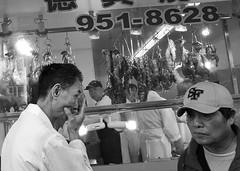 Chinatown Fridays (65) (momentspause) Tags: ricohgr ricoh blackandwhite bw sanfrancisco chinatown people
