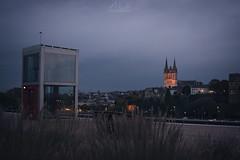 _DSC4162 (ALX-PHOTOGRAPHIE) Tags: automne autumn evening soir soire angers france skyline quai thtre