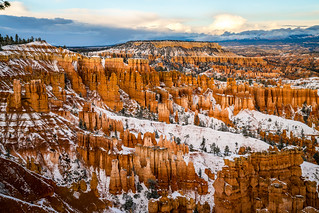 Bryce Canyon Winter Snow Hoodoos Fine Art Photography Elliot McGucken Sony A7RII Fine Art Landscape