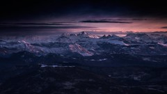From above (JD Photographie.) Tags: mont ventoux paca provence alpes cte azure europe france mountain landscape light sunrise winter snow