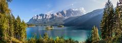 Eibsee - Bavaria, Germany (mistermo) Tags: eibsee grainau bavaria bayern panorama natur naturephotography naturfotografie canoneos50d alpen alps mountain mountains lake see zugspitze water
