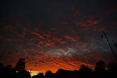 A Gift from the Gods (orbed) Tags: tokina clouds redskyatnight sunset
