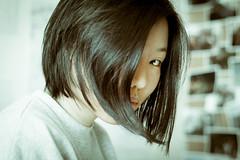 Kanishka-8632 (kanishkaiddawela) Tags: people portrait girl headshot mysterious