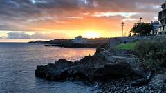 Los Abrigos, Tenerife (Arran Bee) Tags: spain europe iphone 6s plus sunset sun ocean water evening los abrigos outdoor sea canary islands