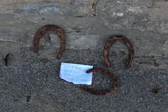 Horse Shoes (Odd Wellies) Tags: sz0379 swanage horseshoes england unitedkingdom