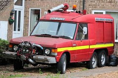 GVF 314N (Nivek.Old.Gold) Tags: 1974 range rover carmichael commando fire tender madley bt emergency response team