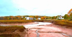 Morning low tide in Parrsboro Harbour on the Bay of Fundy (peggyhr) Tags: peggyhr harbour lowtide dsc06491axy parrsboro novascotia canada level1photographyforrecreation