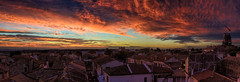 Rouge-matin (RS...) Tags: arles matin morning rouge red nuages clouds panoramic d800