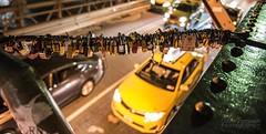 And so do I (Colin Freeman Photography) Tags: new york ny nyc newyork city honeymoon nikon d750 brooklyn brooklynbridge taxi cab yellowcab lock night bridge iconic steel 2470 architecture