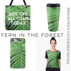 "Carry nature with you with these ""Fern in the Forest"" products and more. 20% Off All Items Today #fern #plants #nature #garden #outdoors #products #home #clothing #arts #crafts #technology (dewelch) Tags: ifttt instagram carry nature with you these fernintheforest products more 20 off all items today fern plants garden outdoors home clothing arts crafts technology"