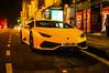 Lamborghini Huracán LP 610-4 Avio (Brian Travelling) Tags: lamborgini supercar yellow edinburgh scotland street scene pentaxkr pentax pentaxdal lamborghini