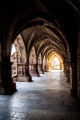 Le cloitre Luxeuil les Bains (Fender !) Tags: france franche comt haute sane luxeuil les bains canon 1200d abbaye glise cloitre pierre pavet lumire architecture arche colonne