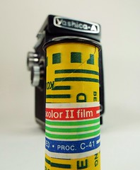 'Found Film' in our Yashica-A (www.yashicasailorboy.com) Tags: 120 film rollfilm kodacolor kodak yashicaa yashica 6x6cm japan found studio collection fujifilm finepix