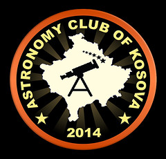 ASTRONOMY CLUB KOSOVO LOGO (Suhel Ahmeti) Tags: park sky moon smart club night canon way logo stars photography 350d solar energy satellite luna system crescent nasa craters spots telescope national astrophotography e kosova astronomy jupiter dust universe comet milky showcase gibbous jpl source bodies waxing suns celestial hena ack meade lovejoy etx70 observing the prishtina autostar rruga stema suhel germia diellit vrojtimi ahmeti qumeshtit njollat wwwfacebookcomastronomyclubkosova