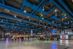 Centre Georges Pompidou | Entrance Hall (James_Beard) Tags: paris architecture pompidou modernarchitecture centregeorgespompidou canon1740 beauborg canon6d