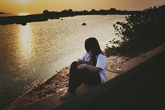 ❤️ (sarasamy734) Tags: sunset sky lake love beach coffee beautiful heart t3i jacvanek